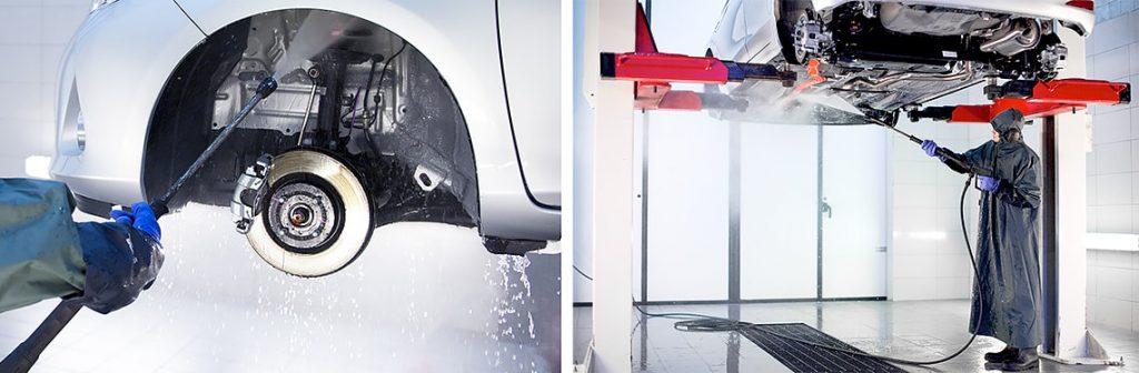 Vask av bil